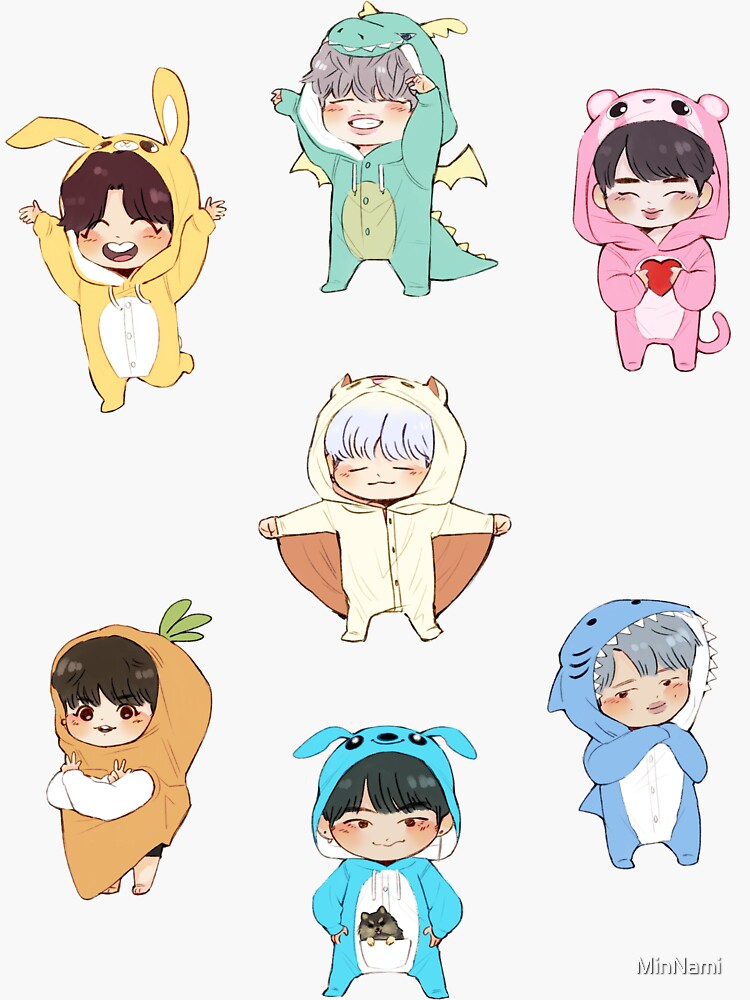 ~ BTS 4th Muster Stickers! ~ by MinNami