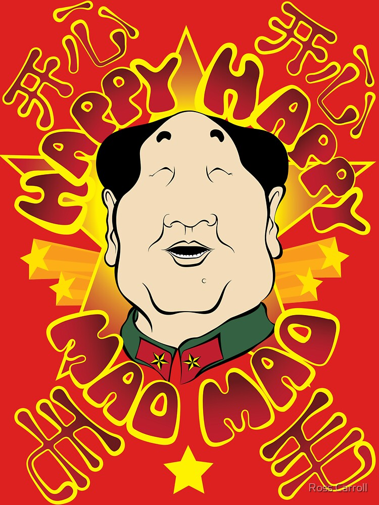 Happy Happy Mao Mao by RossCarroll