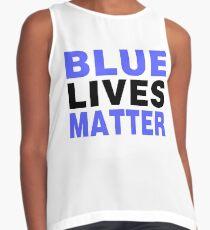 BLUE LIVES MATTER 2 Contrast Tank
