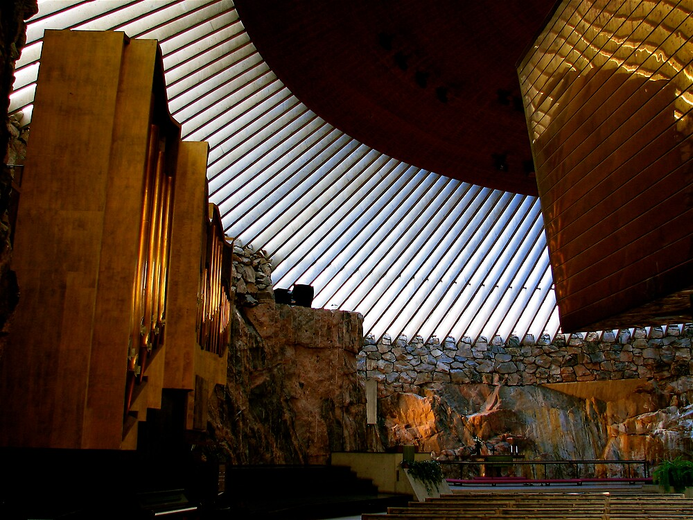 Temppeliaukio, Helsinki by C1oud