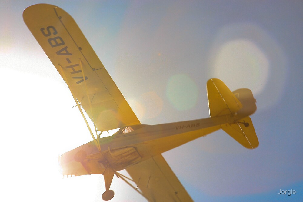 VH-ABS landing at Gawler SA by Jorgie