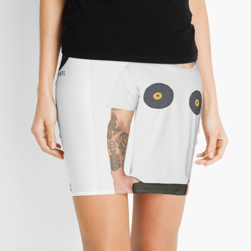 Vinly Collection Tshirts Mini Skirt