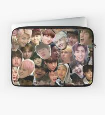 BTS - MEME FACE COLLAGE Laptoptasche