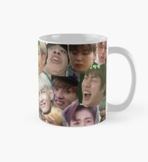 BTS - MEME FACE COLLAGE Mug
