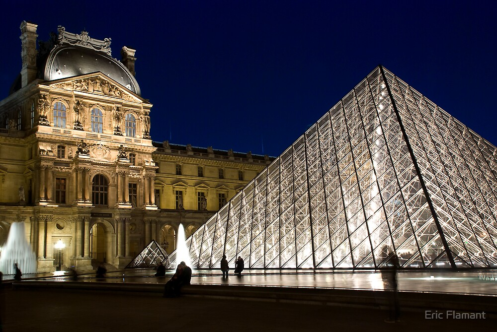 Le Louvre by Eric Flamant