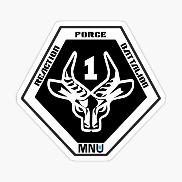 PATCH DISTRICT 9 MNU TROOPS  1 ANTELOPE IRON ON
