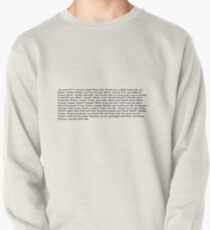 the office boom roasted Pullover