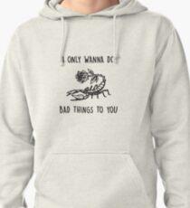 bad things lyrics by camila cabello feat machine gun kelly Pullover Hoodie