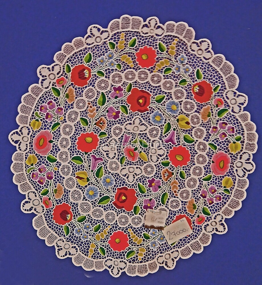 Embroidery, Hungarian by Graeme  Hyde