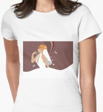 Beautiful bride Womens Fitted T-Shirt
