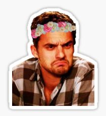 Grumpy Nick Sticker