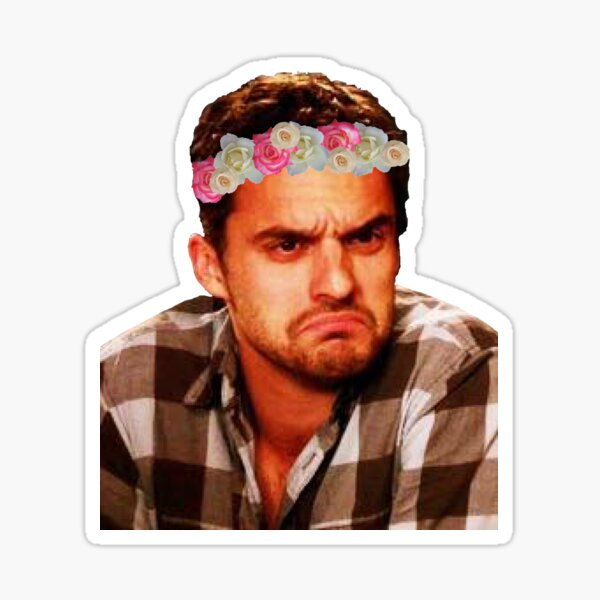 Grumpy Nick Sticker