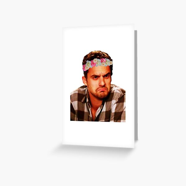 Grumpy Nick Greeting Card