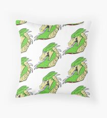 Grim Matchstick Throw Pillow