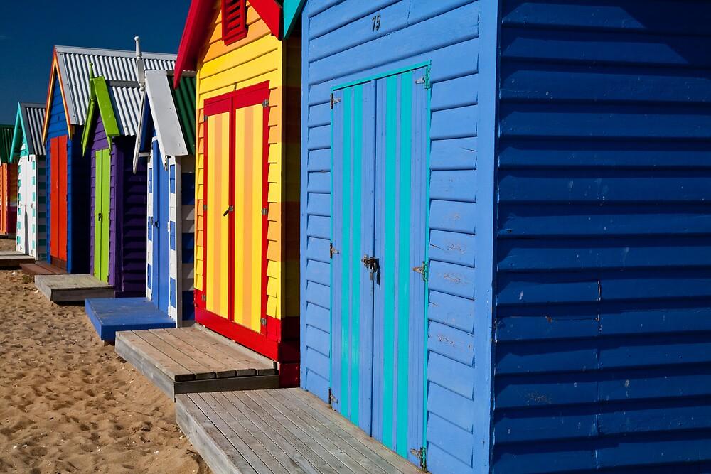 Brighton Bathing Boxes by Chris Putnam