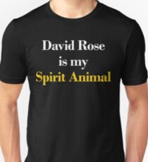 David Rose is my Spirit Animal Unisex T-Shirt