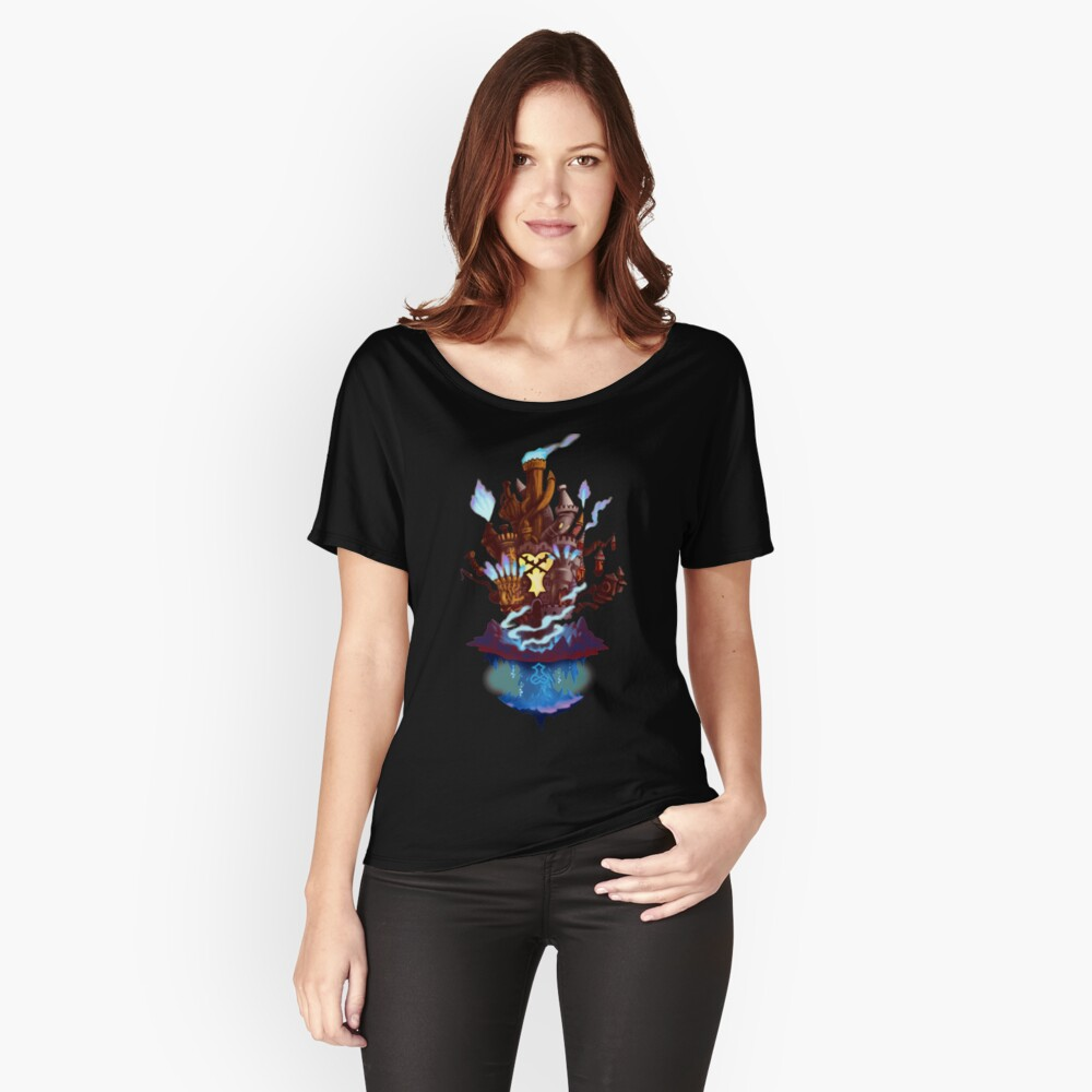 Hollow Bastion Loose Fit T-Shirt