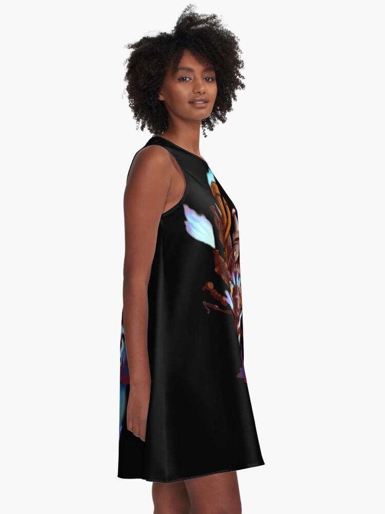 Alternative Ansicht von Hollow Bastion A-Linien Kleid
