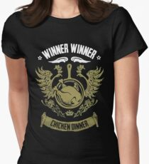 PUBG Winner Winner Chicken Dinner Women's Fitted T-Shirt