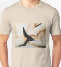 Alluring Grace, High Heels, by James Patrick Unisex T-Shirt