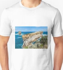 Razorback sandstone formation on Great Ocean Road Unisex T-Shirt