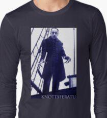 Knottsferatu Blue Long Sleeve T-Shirt