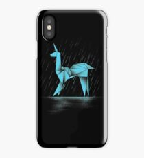 HUMAN OR REPLICANT iPhone Case