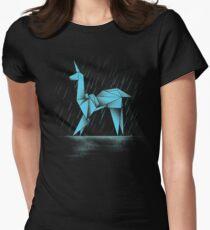 MENSCHLICH ODER REPLIZANT Tailliertes T-Shirt