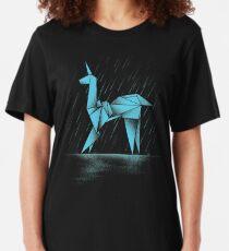 MENSCHLICH ODER REPLIZANT Slim Fit T-Shirt