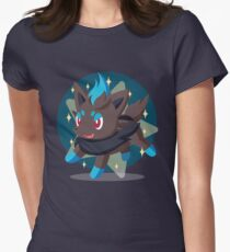 Shiny Zorua Women's Fitted T-Shirt