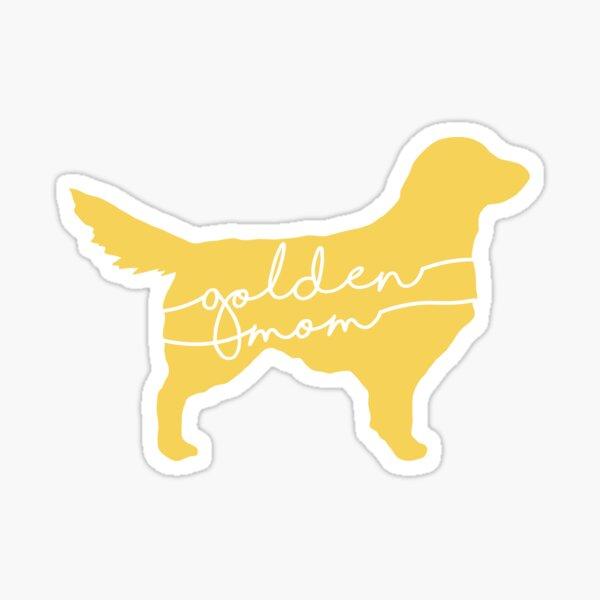Golden Mom Sticker