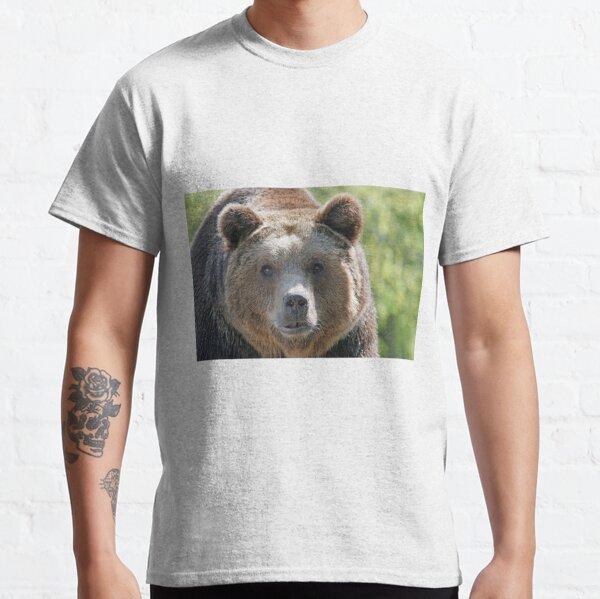Bear, bear's face, forest bear, terrible bear, bear-to-beard Classic T-Shirt