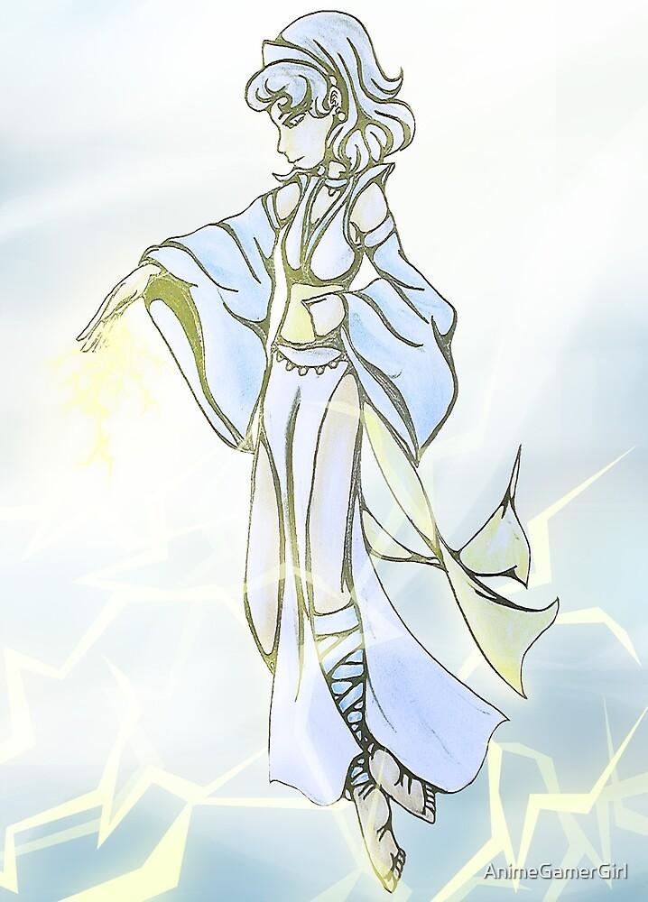 sky goddess by AnimeGamerGirl