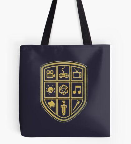 NERD SHIELD Tote Bag