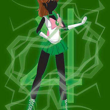 Sailor Jupiter by AnimeGamerGirl