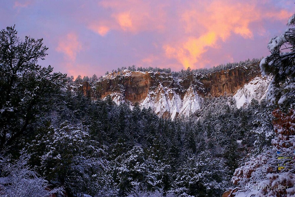Jemez Red Cliffs by envirocation