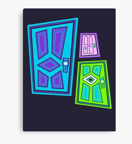 PICK A DOOR! Canvas Print