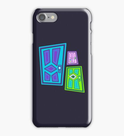 PICK A DOOR! iPhone Case/Skin