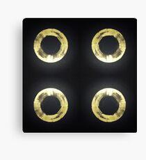 4 rings Canvas Print