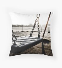 Frosted Playground Throw Pillow