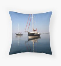 Sister Ships Throw Pillow