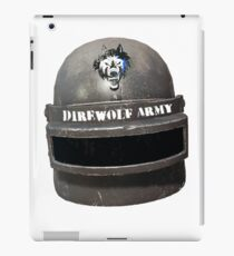 Level 3 Direwolf Army Helmet iPad Case/Skin