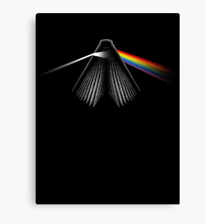 THE RAINBOW SIDE OF READING Canvas Print