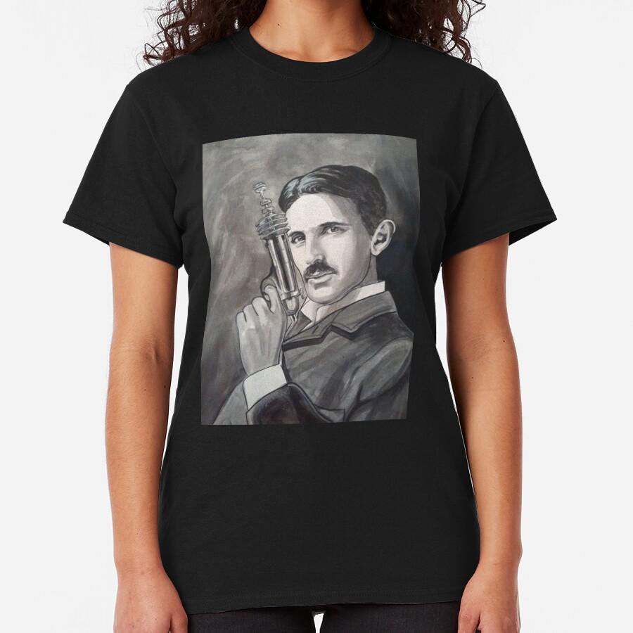 Nikola Tesla raygun Classic T-Shirt