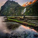 Bowen Falls Sunset by Alex Stojan