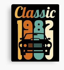 1982 Vintage 36th Birthday Gift 36 Years Old Canvas Print