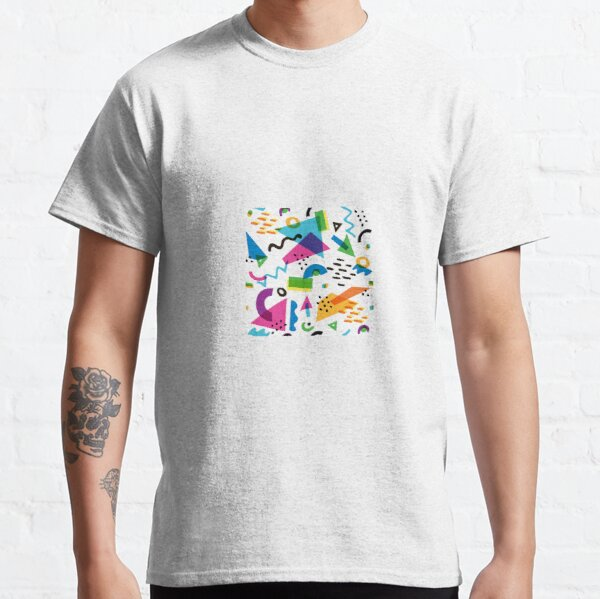 80's Abstract Pattern Classic T-Shirt