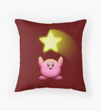 SUPER STAR! Throw Pillow