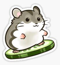 Agouti Djungarian Hamster Sticker