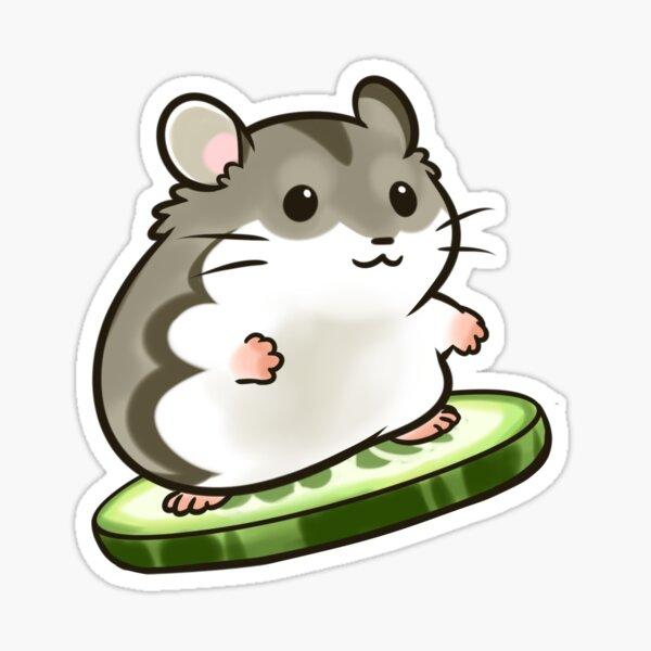 Agouti Djungarian Hamster Pegatina
